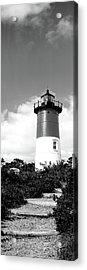 Low Angle View Of Nauset Lighthouse Acrylic Print