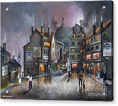 Ludgate Hill Acrylic Print