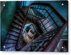 Lunatic Stairs Acrylic Print