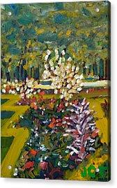 Luxembourg Gardens Acrylic Print