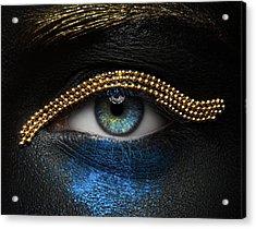 Macro Beauty Acrylic Print
