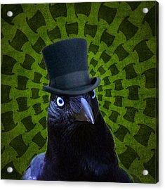 Mad Crow Acrylic Print