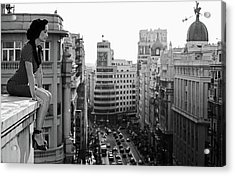 Mad Madrid Acrylic Print