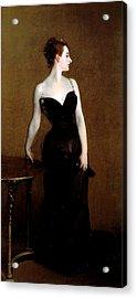 Madame X Acrylic Print by John Singer Sargent
