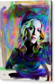 Madonna Acrylic Print by Unknown