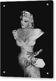 Mae West Acrylic Print