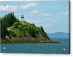 Maine, Rockland, Penobscot Bay Acrylic Print by Cindy Miller Hopkins