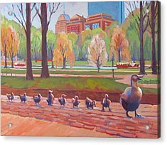 Make Way For Ducklings Acrylic Print