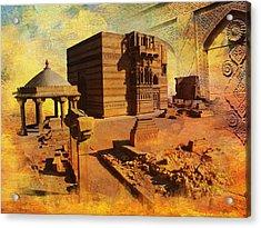 Makli Hill Acrylic Print by Catf