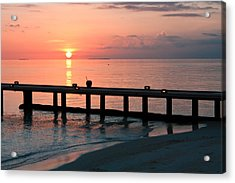 Acrylic Print featuring the photograph Maldives Morning  by Shirley Mitchell