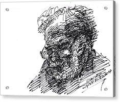 Man In The Corner Acrylic Print