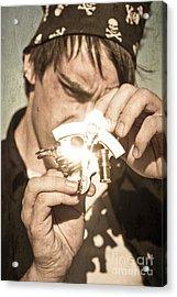 Man With Sun Compass Acrylic Print by Jorgo Photography - Wall Art Gallery