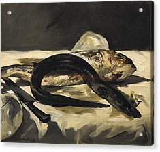 Manet, �douard 1832-1883. Still Life Acrylic Print by Everett