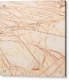 Marble Background Acrylic Print by Tom Gowanlock