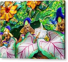 Mardi Gras Float Acrylic Print by Steve Harrington