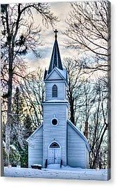 Maria Chapel Acrylic Print by Paul Freidlund