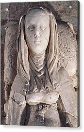 Maria De Molina 1265-1321. Queen Acrylic Print by Everett