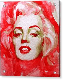 Acrylic Print featuring the painting Marilyn by Laur Iduc