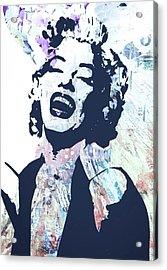 Marilyn Acrylic Print by Trisha Buchanan
