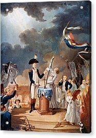 Marquis De Lafayette (1757-1834) Acrylic Print by Granger