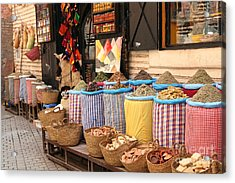 Marrakesh Morocco Acrylic Print by Sophie Vigneault