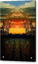 Acrylic Print featuring the photograph Marsh Lake - Yukon by Juergen Weiss