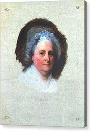 Martha Washington (1731-1802) Acrylic Print by Granger