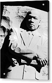 Acrylic Print featuring the photograph Martin Luther King Memorial by Cora Wandel