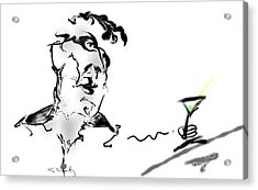 Martini Acrylic Print by Gabrielle Schertz