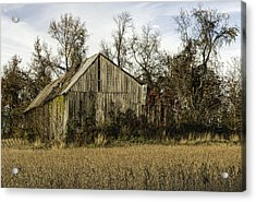 Maryland Barns Acrylic Print