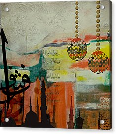 Masjid Nabvi Acrylic Print by Corporate Art Task Force