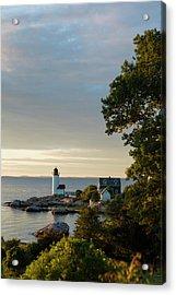 Massachusetts, Gloucester, Annisquam Acrylic Print by Walter Bibikow
