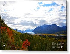 Acrylic Print featuring the photograph Matanuska Glacier by Kate Avery
