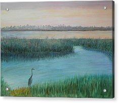 Matanzas River Morning Acrylic Print