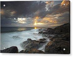 Maui Seascape Acrylic Print by James Roemmling