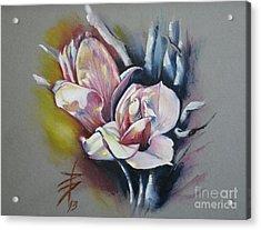May Beauty Be With You Acrylic Print by Alessandra Andrisani