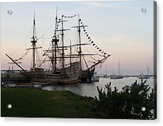 Acrylic Print featuring the photograph Mayflower II by John Hoey