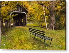 Mcwilliams Covered Bridge Acrylic Print