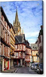 Medieval Vannes France Acrylic Print