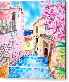 Mediterranean Wind Acrylic Print