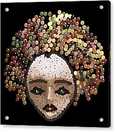 Medusa Bedazzled After Acrylic Print