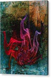 Medusa Acrylic Print by Klara Acel