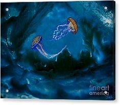 Medusa's Cavern Acrylic Print by Steed Edwards