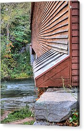 Meems Bottom Acrylic Print by JC Findley