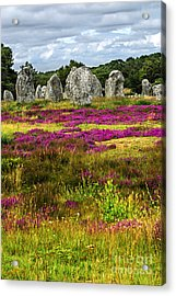 Megalithic Monuments In Brittany Acrylic Print