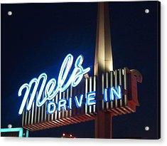Mel's Acrylic Print