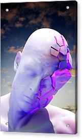 Mental Health Degeneration Acrylic Print