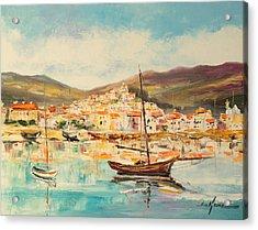 Mentone Harbour Acrylic Print