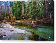 Merced River Yosemite National Park Acrylic Print