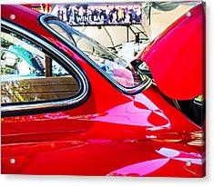 Mercedes Benz 300 Sl Acrylic Print by SM Shahrokni
